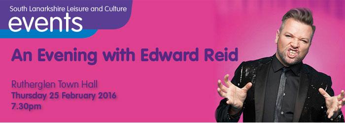 An Evening with Edward Reid