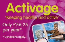 Activage membership for over 60s with South Lanarkshire Leisure and Culture