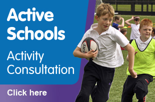 Active Schools Consultation 2013, from South Lanarkshire Leisure and Culture.