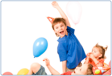 Birthday parties at Dollan Aqua Centre