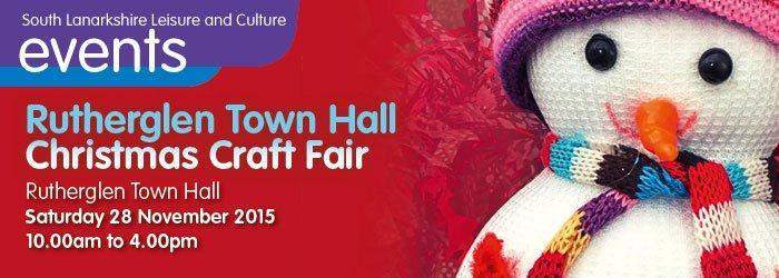 Rutherglen Town Hall Christmas Craft Fair