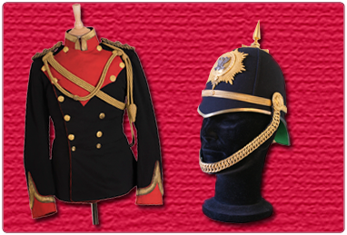 Lanarkshire Yeomanry Tunic and Helmet