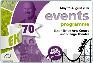 Download the East Kilbride Events Programme.