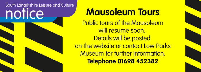 Mausoleum tours