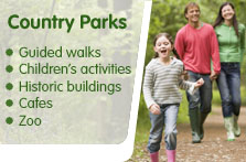 South Lanarkshire Leisure and Culture country parks, Chatelherault and Calderglen