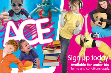 ACE children's activities in South Lanarkshire