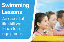 Swimming lessons, South Lanarkshire Leisure and Culture,