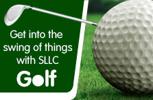 Get into the swing of things with SLLC golf.
