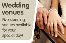 Weddings with South Lanarkshire Leisure and Culture