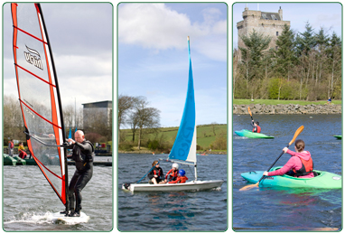 Link to information on the Water sports courses offered by South Lanarkshire Leisure and Culture