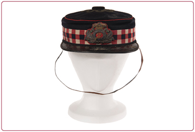 4.	2nd Royal Lanark Militia diced forage cap