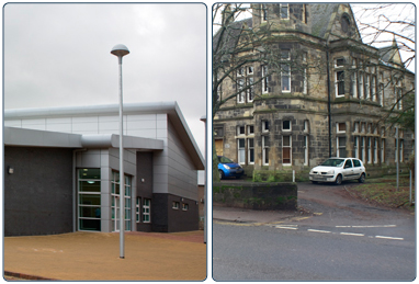 Halls in Rutherglen and Cambuslang.