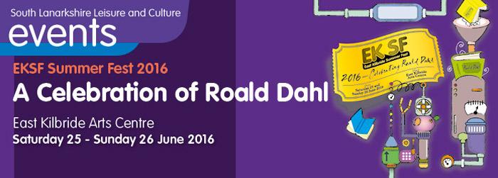 EK summer fest 2016 - A Celebration of Roald Dahl
