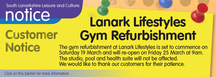 Lanark Lifestyles Gym Refurbishment Sllc