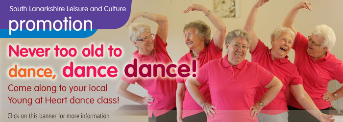 Never too old to dance