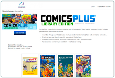 eComics from South Lanarkshire Leisure and Culture's Library.