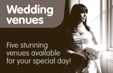Weddings, South Lanarkshire Leisure and Culture