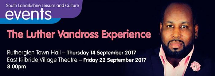 Luther van Dross Experience, Rutherglen Town Hall, Rutherglen, South Lanarkshire,