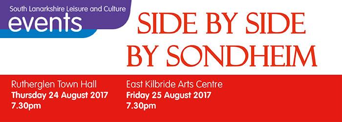 Side by Side by Sondheim, Rutherglen Town Hall, Rutherglen, South Lanarkshire,