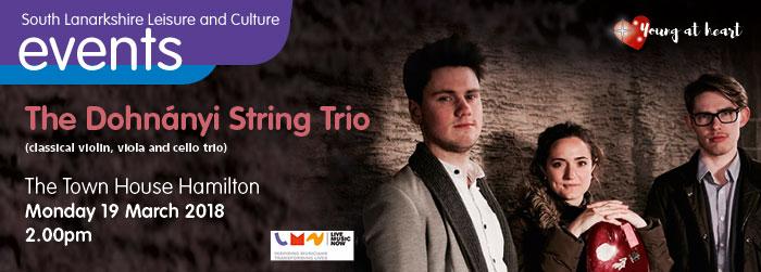 The Dohnanyi String Trio