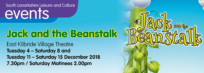 Jack and the Beanstalk at East Kilbride Village Theatre