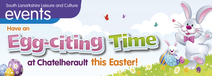 Have an Egg-citing time at Chatelherault this Easter