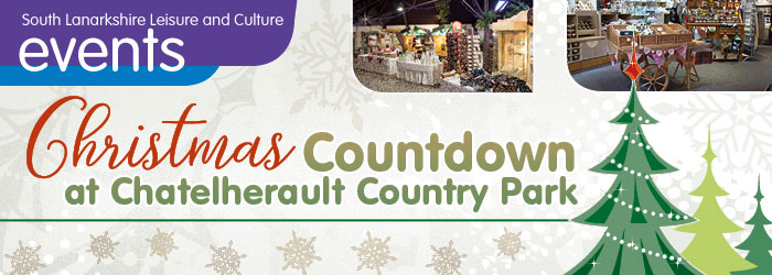 Christmas Countdown at Chatelherault Country Park, Hamilton, South Lanarkshire