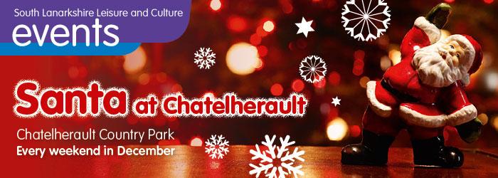 Santa at Chatelherault Country Park, South Lanarkshire