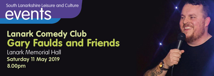 Lanark Comedy Club - Gary Faulds