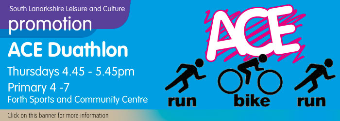 ACE Duathlon at Forth Sports and Community Centre, South Lanarkshire