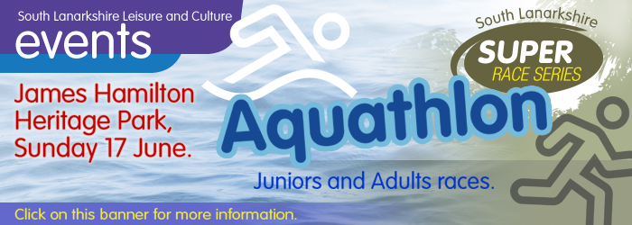 Super 4 Aquathon at James Hamilton Heritage Park