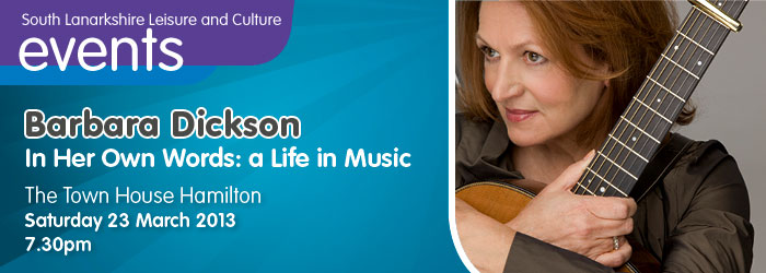 Barbara Dickson In Her Own Words: A Life In Music