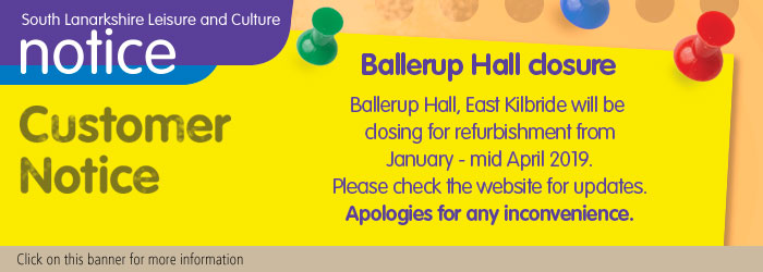 Ballerup Hall Refurbishment, Jan - mid Apr 2019
