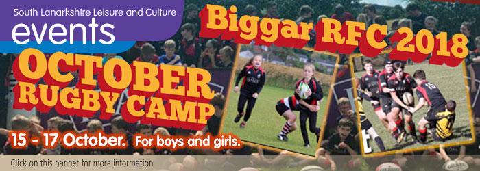 Biggar RFC October Camp 2018