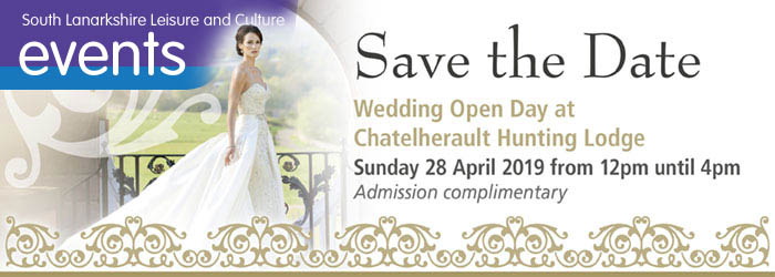 Save the Date Wedding Open Day at Chatelherault Country Park
