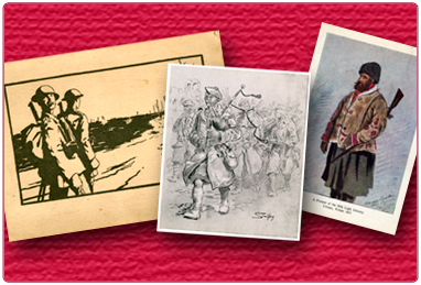 Christmas Cards - The Cameronian (Scottish Rifles)