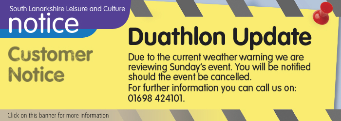 Duathlon Update