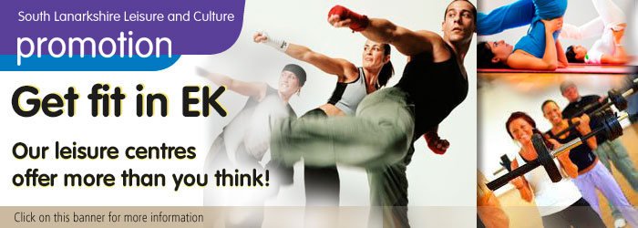 Fitness classes on your doorstep in East Kilbride