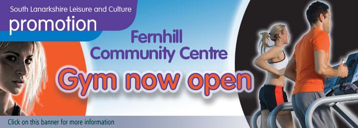 Fernhill Community Centre Gym Now Open
