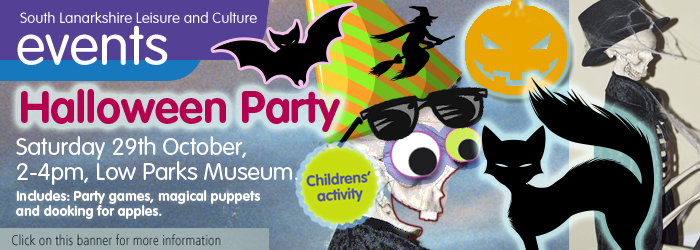 Halloween Party at Low Parks Museum