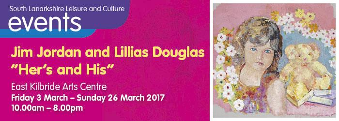 "Jim Jordan and Lillias Douglas ""Her's and His"", East Kilbride Arts Centre, South Lanarkshire"