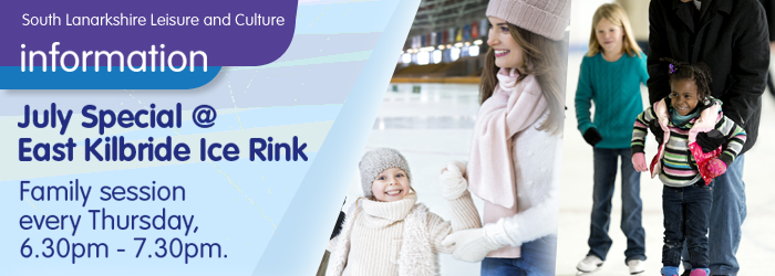 July Special at East Kilbride Ice Rink