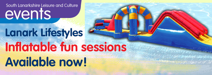 Lanark Lifestyles Pool Inflatable Information and Sessions for 2017