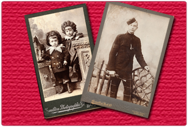 Cartes de Visite and Cabinet Cards