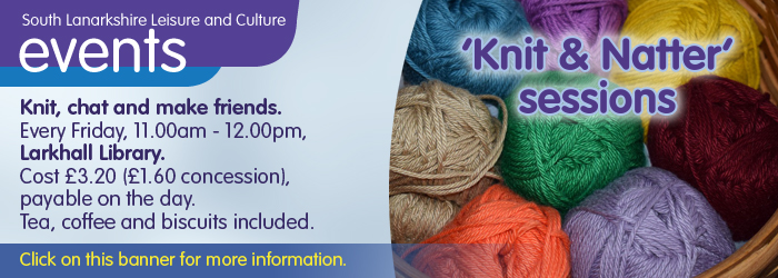 'Knit and Knatter' Sessions