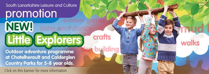 Little Explorers Outdoor Adventures, Calderglen Country Park, East Kilbride, South Lanarkshire,