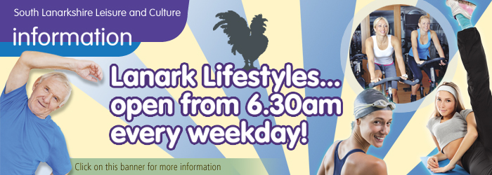 Early mornings at Lanark Lifestyles