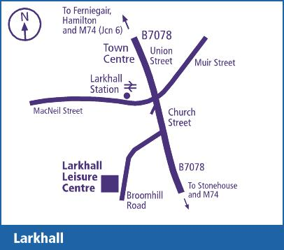Larkhall Leisure Centre South Lanarkshire Leisure And
