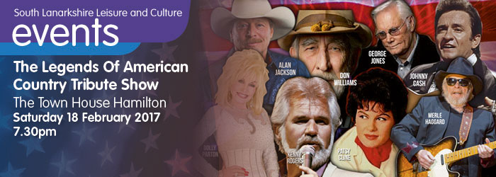 Legends of American Country Show, The Town House Hamilton, South Lanarkshire