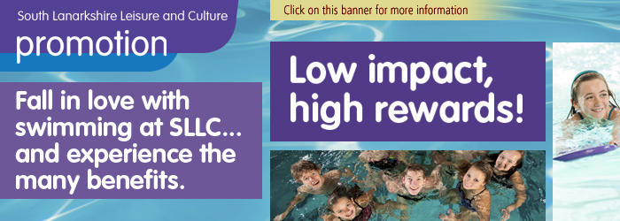 Fall in Love with Swimming at SLLC, swimming, South Lanarkshire,